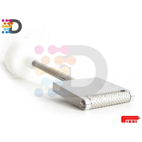 Dysza rolkowa płaska 40 mm PIZZI OFFICNE