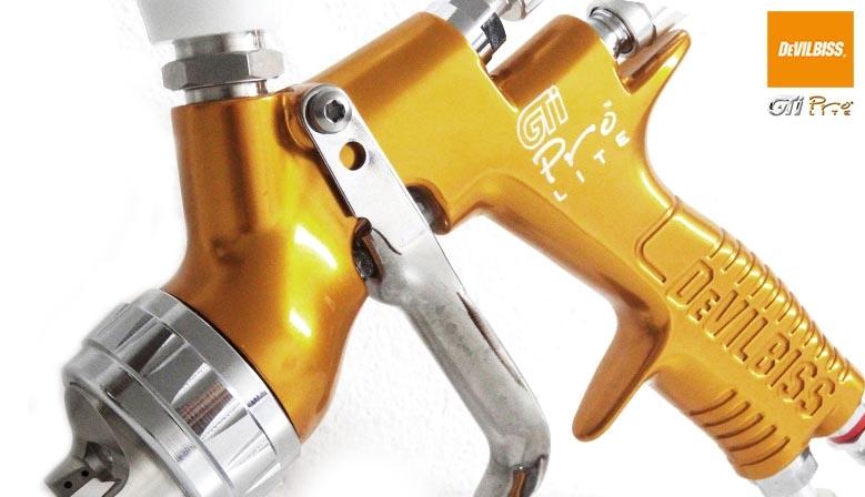 pistolet lakierniczy - malarski GTI PRO LITE DEVILBISS