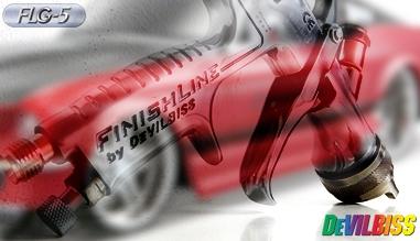 FLG 5 devilbiss - pistolet ręczny kubkowy grawitacyjny lakierniczy - malarski