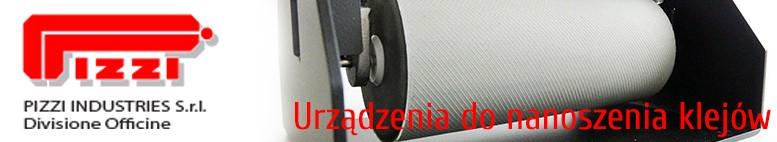 Dystrybucja urządzeń do nakładania kleju - PIZZI OFFICINE