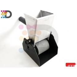 Ręczna nakładarka kleju 72 mm z wałkiem gumowym PIZZI OFFICINE