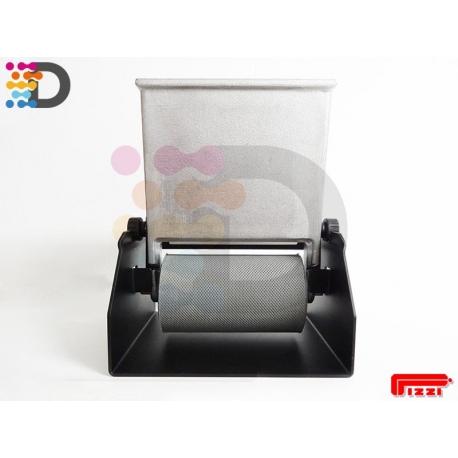 Ręczna nakładarka kleju 120 mm z wałkiem gumowym PIZZI OFFICINE