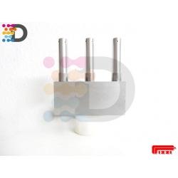 Potrójna końcówka-dysza do nakładania kleju 12x40 PIZZI OFFICINE