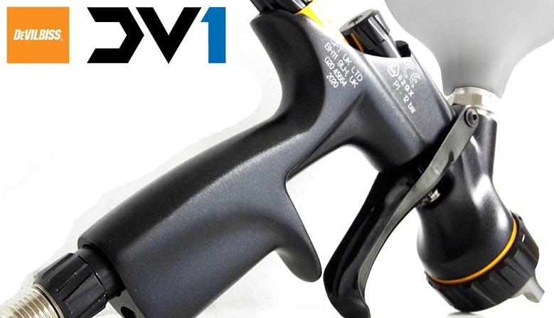 DV1 DeVILBISS. Pistolet do malowania, pistolet do lakierowania. pistolet do CLEARU.